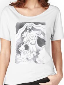 Foamale of Bubbly Chaos Women's Relaxed Fit T-Shirt