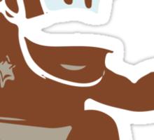 Minimalist Diddy Kong from Super Smash Bros. Brawl Sticker