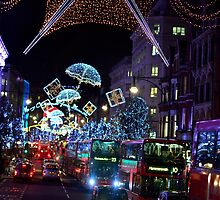 Christmas in  London by BrightFogPhoto