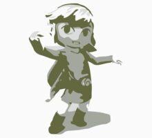 Minimalist Toon Link from Super Smash Bros. Brawl Kids Clothes