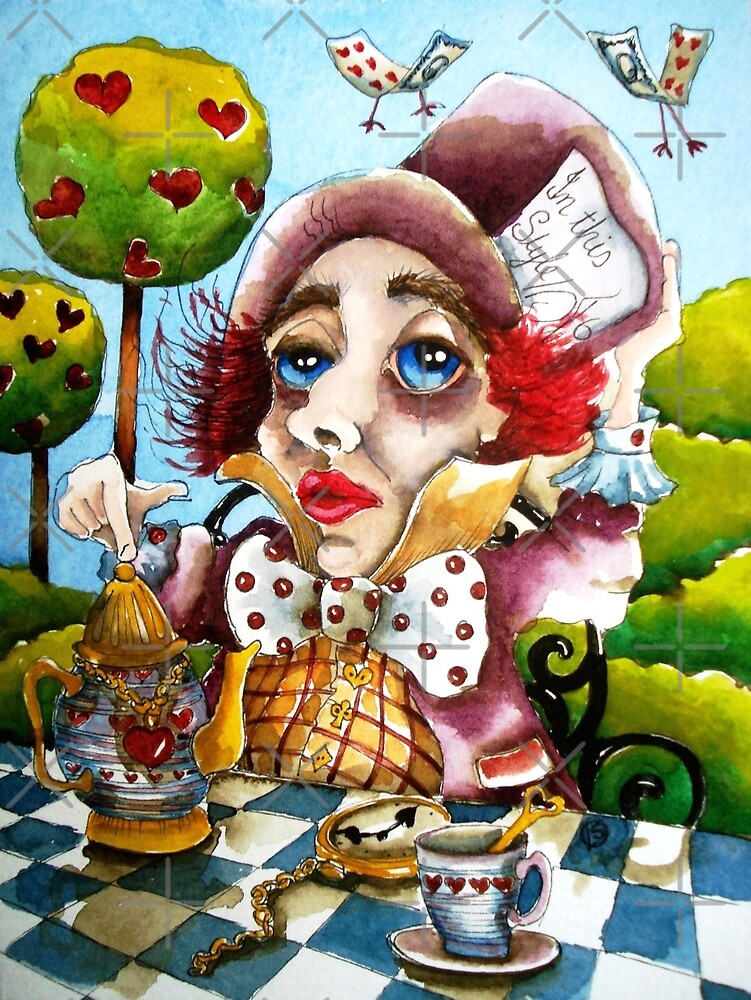The Mad Hatter - time for tea by StressieCat