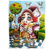 The Mad Hatter - time for tea Poster