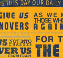 The Memphis Grizzlies Prayer Sticker