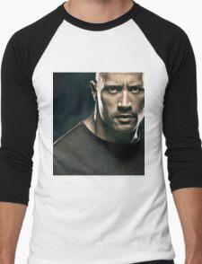 Dwayne Johnson Men's Baseball ¾ T-Shirt