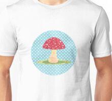 Scrapbook Mushroom Unisex T-Shirt
