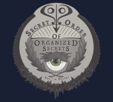 Secret Order of Organized Secrets Baby Tee