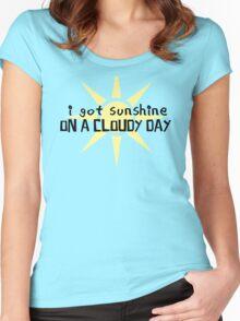 My Girl Lyrics Highlight Women's Fitted Scoop T-Shirt
