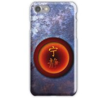 Iron Serenity iPhone Case/Skin
