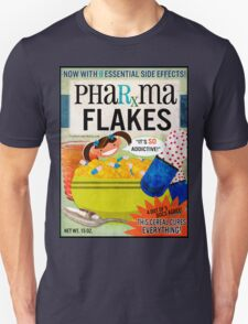 Big Pharma Flakes Breakfast Cereal Unisex T-Shirt
