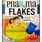 Big Pharma Flakes Breakfast Cereal by truthstreamnews
