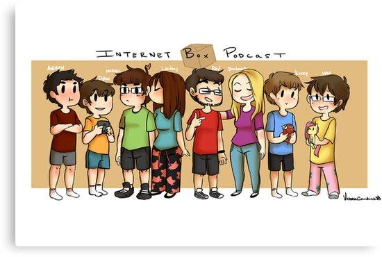 Internet Box Crew :) by VictoriaCandies