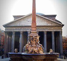 Pantheon & Fontana, Piazza della Rotonda, Roma, Italia by outspoken82