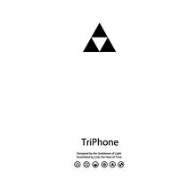 TriPhone (WHITE) by PjMann