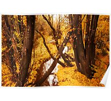 Yellow Wood Poster