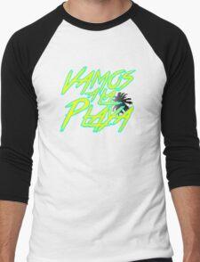 Vamos A La Playa Men's Baseball ¾ T-Shirt