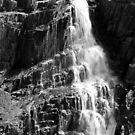 Cascading in B&W by Jack Doherty