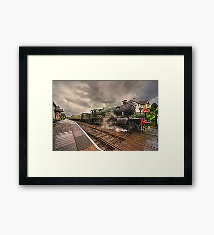 Odney Manor at Blue Anchor  Framed Print