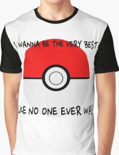 Pokemon Ball Theme Song  Graphic T-Shirt