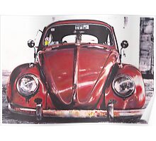 Cherry red Poster