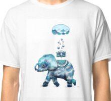 Tie Dye Elephant Classic T-Shirt