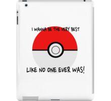 Pokemon Ball Theme Song  iPad Case/Skin