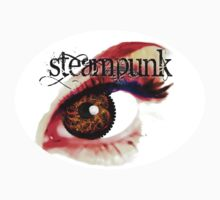 steampunk eye Baby Tee