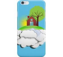 Go home, to the safety of your cloud! iPhone Case/Skin