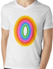 Concentric 9 Mens V-Neck T-Shirt