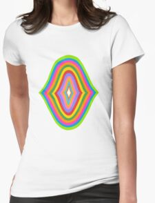 Concentric 11 Womens Fitted T-Shirt