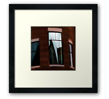 Reflections in Architecture   Framed Print