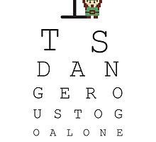Its Dangerous To Go Alone, Take Your Glasses  by RetroReview