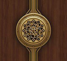 Steam Punk Decorative Wooden Case by Marc Orphanos