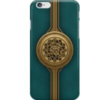 Steam Punk Decorative Leather Case  iPhone Case/Skin