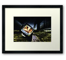 Broken Pc 01 Framed Print