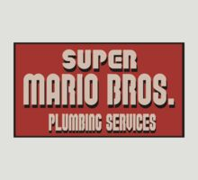 Super Mario Bros Plumbing Services! by Bergmandesign