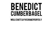 BENEDICT CUMBERBAGEL Photographic Print