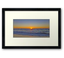 Sunrise @ Sunshine Beach Framed Print