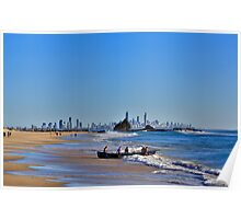 A view from Currumbin Poster