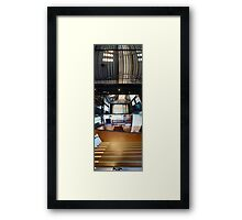 Shoes To Sky | Powerhouse (Inside) Framed Print