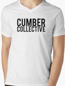 CUMBER COLLECTIVE Mens V-Neck T-Shirt