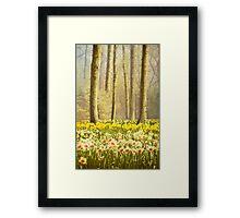 A Spring Day Framed Print
