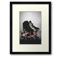 Converse Rollers Framed Print