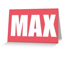Max Walker Greeting Card