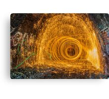 Tunnel of Light II Canvas Print