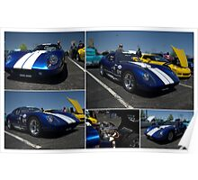 1965 Shelby Daytona Coupe Replica Poster