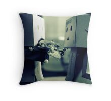 danbo's loving Throw Pillow