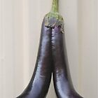 Eggplant Legs by peasticks