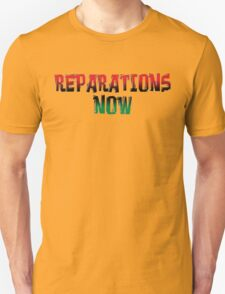 REPARATIONS NOW PRINTS, CARDS & POSTERS. T-Shirt