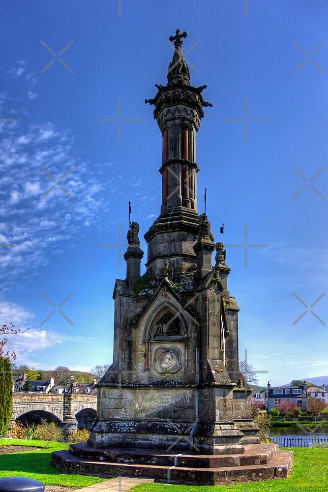 Galloway Memorial, Newton Stewart by Tom Gomez