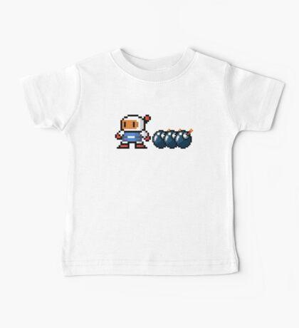 Bomberman pixel Baby Tee
